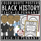 Black History Month Quotes -Black History Month Activities Teach- Go Pennants™