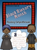 Black History Month {READING COMPREHENSION}