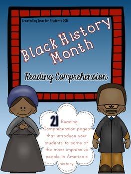 Black History Month {READING COMPREHENSION}