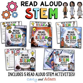 Black History Month Read Aloud STEM Activities BUNDLE