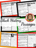 Black History Month Reading Comprehension 1st Grade | Mart
