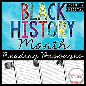 Reading comprehension passages and questions black history month ibookread Download