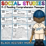Black History Month Reading Comprehension Passages K-2