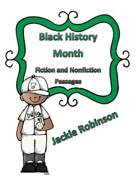 Black History Month Reading Paired Passages: Fiction and Nonfiction Text