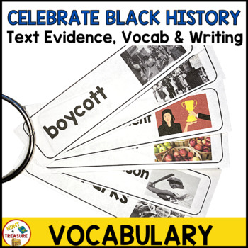 Black History Month Reading Passage- Finding Text Evidence for Primary