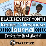 Black History Month Reading Response Journal - Perfect for