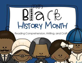 Black History Month Reading, Writing, and Craft