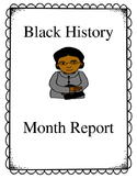 Black History Month Report