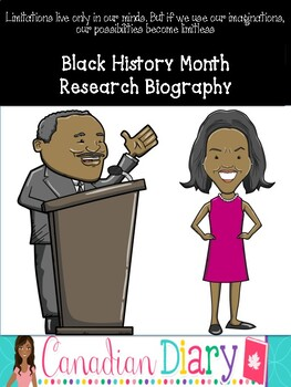 Black History Month Research Biography