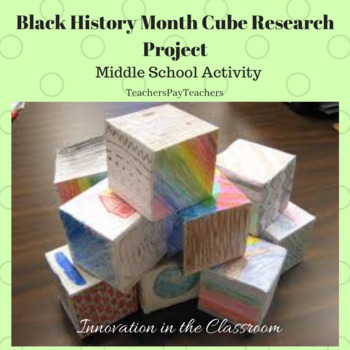 Black History Month Research Cube Project