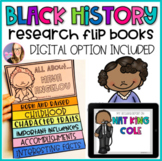 Black History Month Research Flip Books