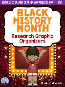 Black History Month Research Graphic Organizers