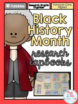 Black History Month Research INB Lapbook {with 10 foldables!}