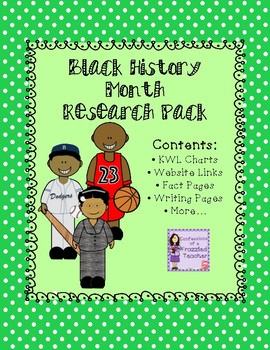Black History Month Research Pack