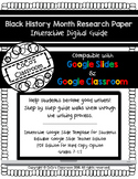 Black History Month Research Paper Interactive Digital Guide