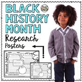 Black History Month Activity - Research Posters