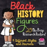 Black History Research Posters