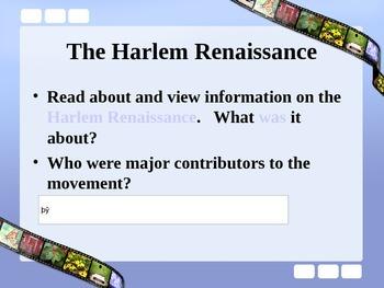 Black History Month Research PowerPoint: WEBQUEST