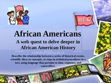 Black History Month Research PowerPoint: WEBQUEST