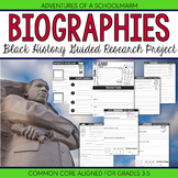 Black History Research Report Biography Project - 3rd 4th