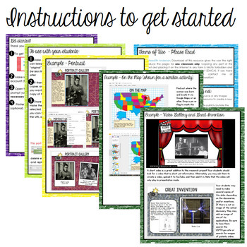 Black History Month Research Project Digital Interactive