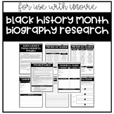 Black History Month Research Project for iMovie