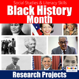Black History Month Research Projects