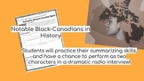 Black History Month Research Summary and Media Project - Canada