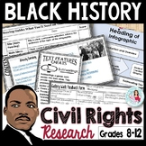 MLK Day | Black History Month | Civil Rights Research