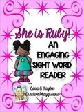 Black History Month~ Ruby Bridges Engaging Sight Word Reader