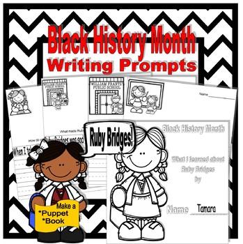 Black History Month: Ruby Bridges Writing Prompts