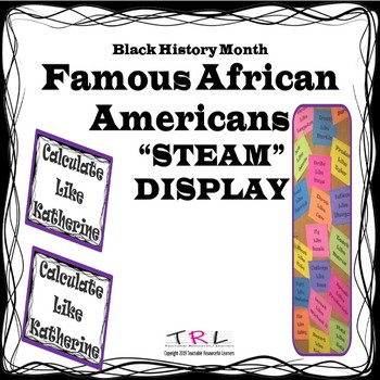 Black History Month STEAM Display