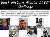 Black History Month STEM Challenge