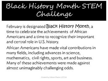 Black History Month STEM Challenge