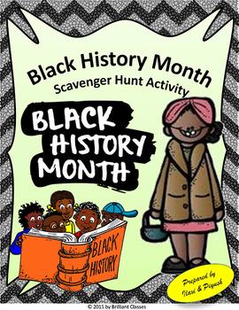 Black History Month Scavenger Hunt