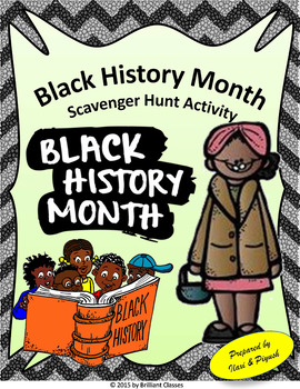 Black History Month Scavenger Hunt