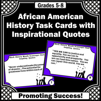 Black History Month Activities, Martin Luther King, Jr. Famous People Quotes