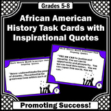 Black History Month Activities, Inspiring Quote, Literacy Centers
