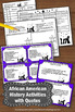 Black History Month Quotes Task Cards Social Studies Games
