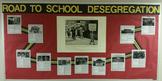 Black History Month School Desegregation Exhibit Bulletin Board