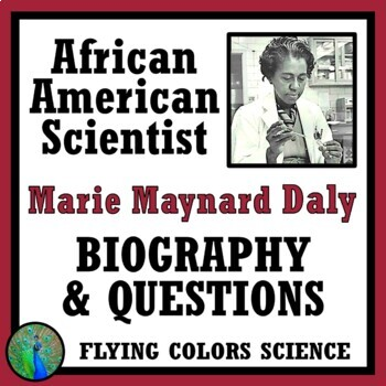Black History Month Science: African American Scientist Reading & Questions