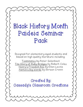 Black History Month Seminar Pack