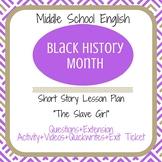 "Black History Month Short Story ""The Slave Girl"""