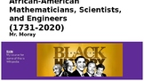 Black History Month Slideshow - African-Americans in STEM
