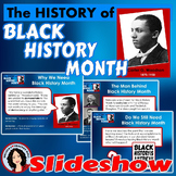 Black History Month Slideshow with Follow Along Notes and Printables