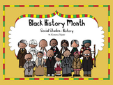 Black History Month Social Studies - History Kindergarten and 1st Grade