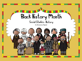 Black History Month Worksheets Teachers Pay Teachers