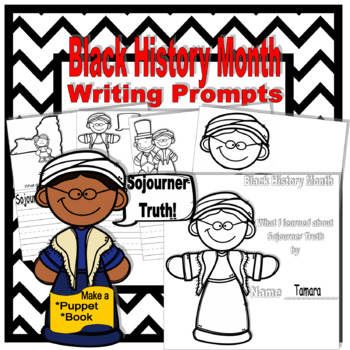 Black History Month: Sojourner Truth Writing Prompts