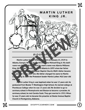 Black History Month Speech Therapy Reading & Language Activities BUNDLE