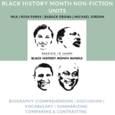 Black History Month Speech Therapy Reading & Language Acti
